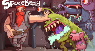Space Beard: an hairy situation in space - Review ⋆ With your glorious and manly facial hair, you will need to kill monsters, aliens and zombies since your spacecraft has been subject to their attacks.