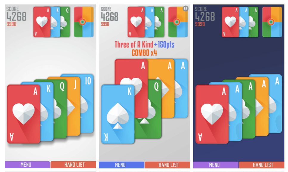 Politaire Poker Solitaire