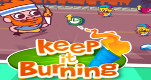 Keep it Burning: an endless runner Olympic Style – Review