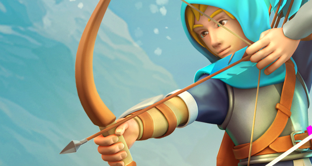 tiny archers ios game review